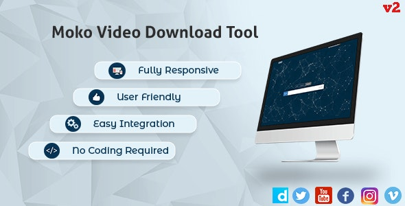 Ultimate Video Downloader - Facebook, Twitter, Vimeo - CodeCanyon Item for Sale
