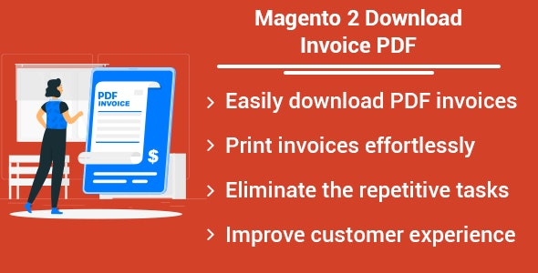 Magento 2 Download Invoice PDF - CodeCanyon Item for Sale