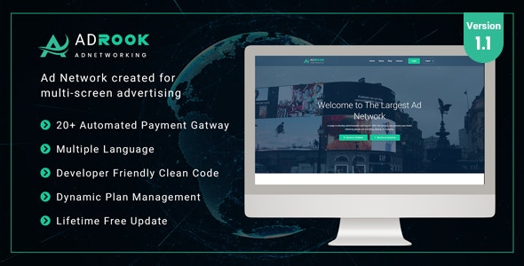 AdsRock - Ads Network & Digital Marketing Platform