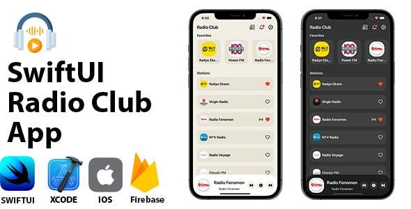 Radio Club App | SwiftUI Full iOS Application