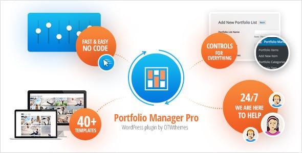 Portfolio Manager Pro - WordPress Responsive Portfolio & Gallery