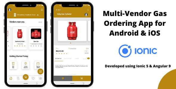 Multi-Vendor Gas Ordering App - CodeCanyon Item for Sale