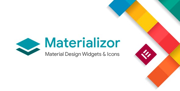 Materializor - Elementor Material Design Widgets & Icons