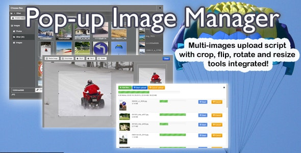 Pop-up Image Manager - CodeCanyon Item for Sale