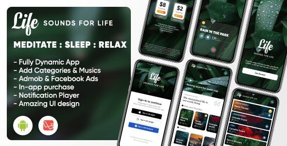 Life: Sleep Sounds - Meditation Sounds - Relax Music App