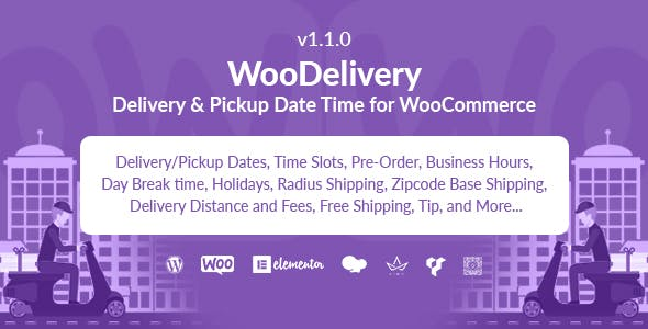 WooDelivery | Delivery & Pickup Date Time for WooCommerce