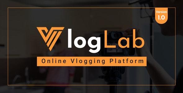 VlogLab - Online Vlogging Platform - CodeCanyon Item for Sale