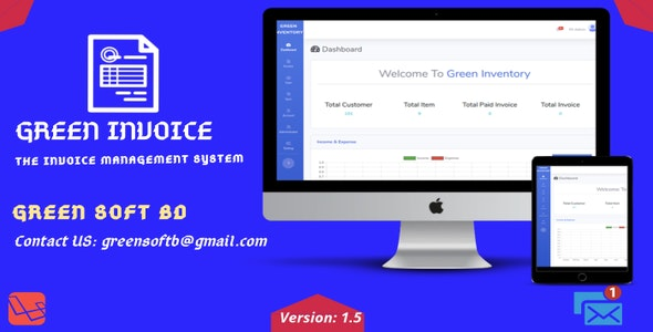 Green Invoice - The Invoice Management System - CodeCanyon Item for Sale