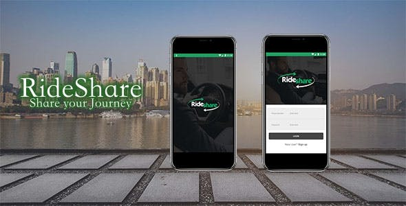 RideShare Car Pooling App