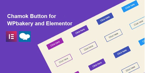 Chamok - Button for WPbakery and Elementor