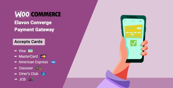 Elavon Converge Payment Gateway WooCommerce Plugin - CodeCanyon Item for Sale
