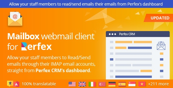 Mailbox - Webmail based e-mail client module for Perfex CRM - CodeCanyon Item for Sale