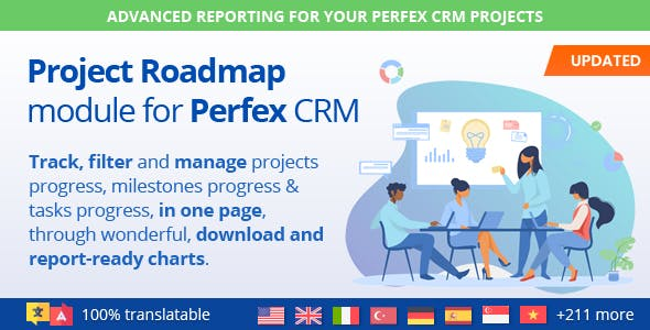Project Roadmap - Advanced Reporting & Workflow for Perfex CRM Projects