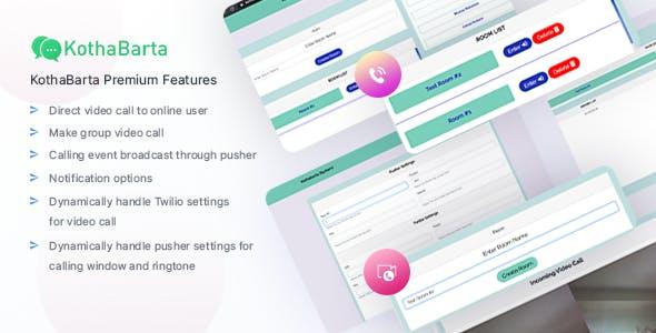 KothaBarta Chat App
