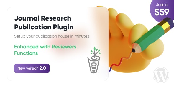 Journal Research Publication Wordpress Plugin - CodeCanyon Item for Sale