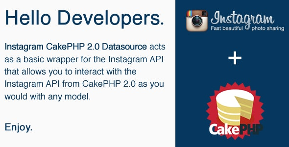 CakePHP Instagram Datasource - CodeCanyon Item for Sale