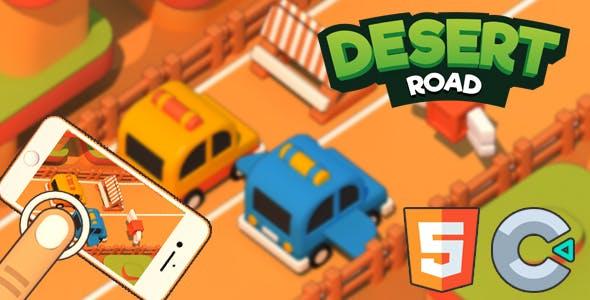 Desert Road - HTML5 Game