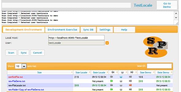 SPR - Synchronizer Php Repository