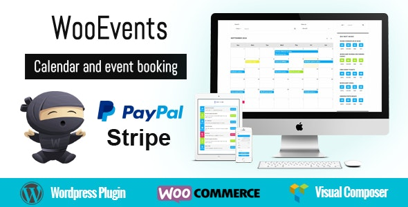 WooEvents v3.6.6 – Calendar and Event Booking