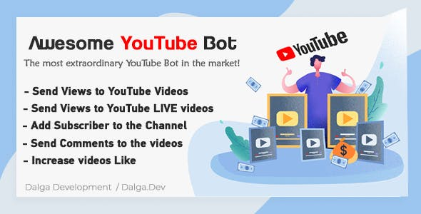 Awesome YouTube Bot - First Humanized YouTube Bot