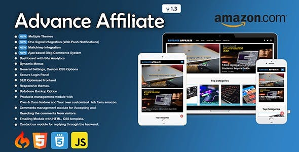 Advance Affiliate - Amazon Affiliate Blog