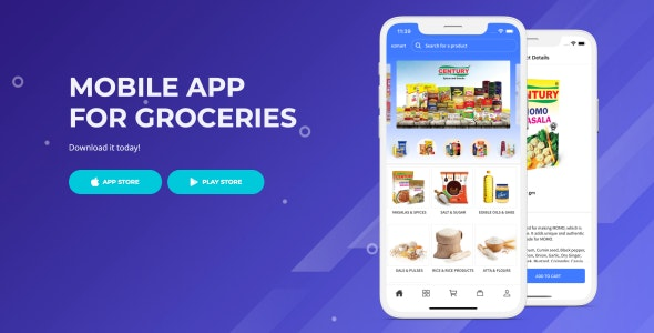 ezmart- React Native Grocery Shopping App - CodeCanyon Item for Sale