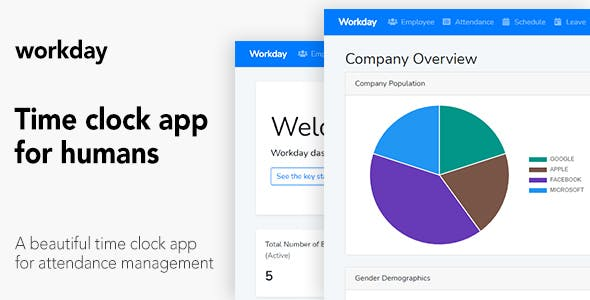 Workday - A Time Clock Application For Employees