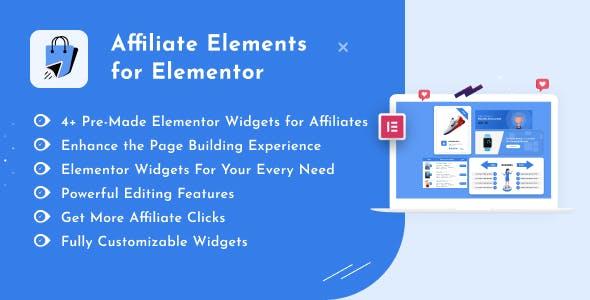 Affiliate Elements for Elementor