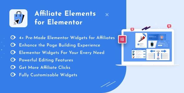 Affiliate Elements for Elementor v1.0.0