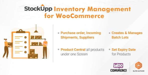 StockUpp Inventory Management for WooCommerce