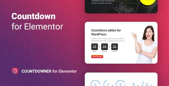 Countdowner – Countdown Timer for Elementor