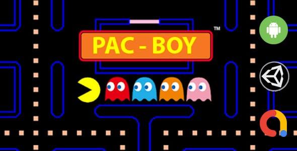 PAC-BOY (Unity - Admob)