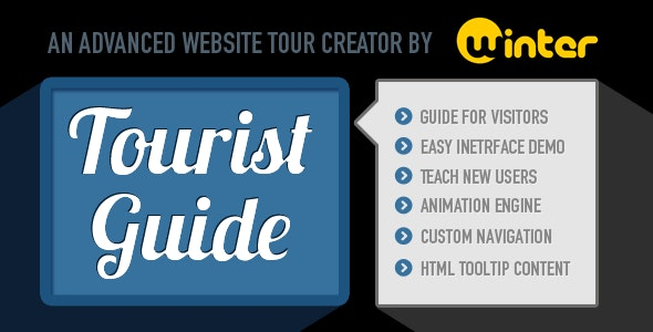 TouristGuide - Advanced Website Tour Creator - CodeCanyon Item for Sale