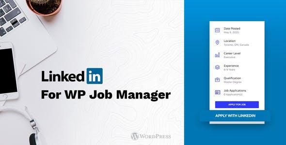 LinkedIn for WP Job Manager