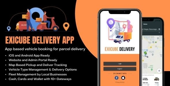 Exicube Delivery App - CodeCanyon Item for Sale