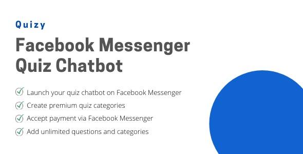 Quizy v1.0 – Facebook Messenger Quiz Chatbot