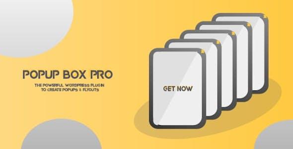 Popup Box - WordPress plugin for easy create Popups