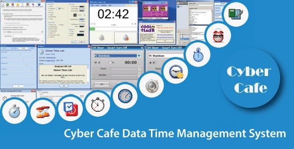 Cyber Cafe Data Time Management System With Source Code - CodeCanyon Item for Sale