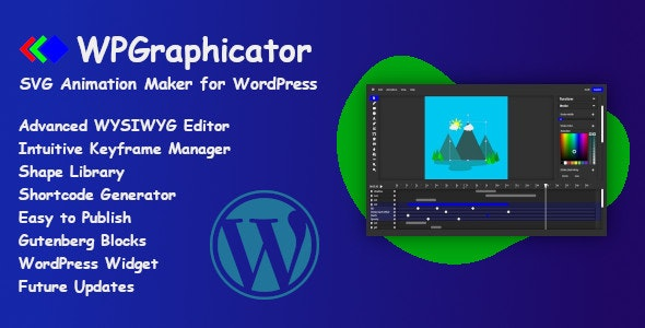 WPGraphicator - SVG Animation Maker for WordPress - CodeCanyon Item for Sale