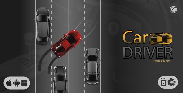 Car Driver   HTML5 • Construct Game - CodeCanyon Item for Sale