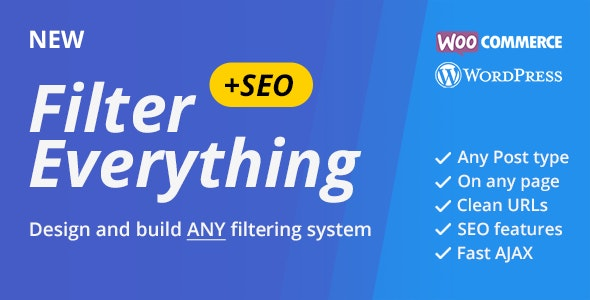 Filter Everything v1.1.21 – WordPress & WooCommerce products Filter