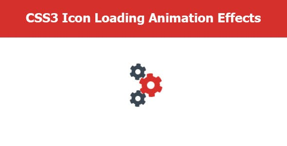 CSS3 Icon Loading Animation Effects