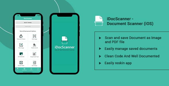 iDocScanner - Document Scanner (iOS) - CodeCanyon Item for Sale
