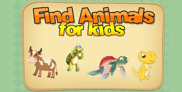 Find Animals for Kids - CodeCanyon Item for Sale