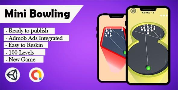 Mini Bowling 3D - (Unity - Admob)
