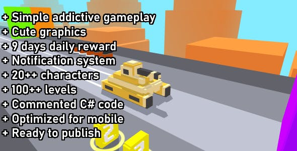 Unity Game Template - Tank Rider