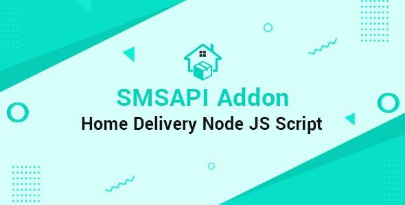 SMS API Home Delivery Node JS Addon