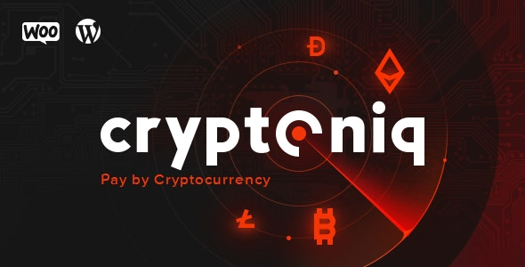 Cryptoniq - Cryptocurrency Payment Plugin for WordPress - CodeCanyon Item for Sale