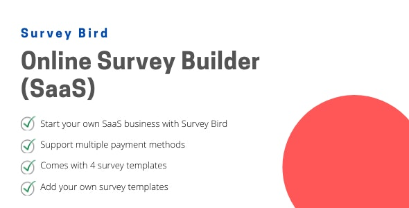 Survey Bird - Online Survey Builder (SaaS) - CodeCanyon Item for Sale