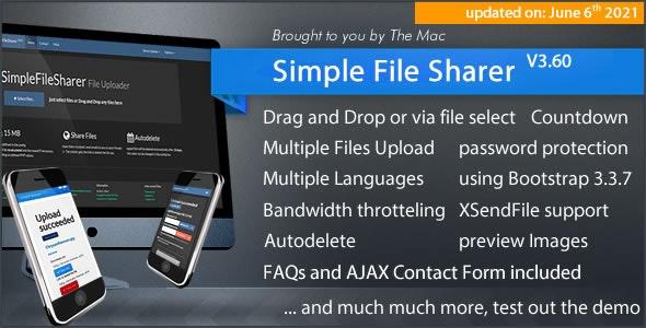 Simple File Sharer v3.60